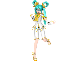 Project Diva Arcade Future Tone Fairy Miku by WeFede