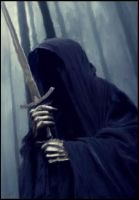 Nazgul Lord of the rings by Atticafinch