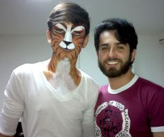 CAT and ME - 2013-10-09 by Thiago-M