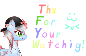 Thx for watching by WindWing2