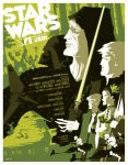 return of the jedi poster by strongstuff