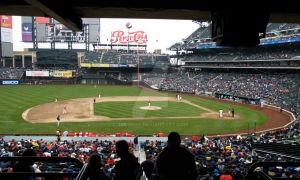 Citi Field Opener: The Game by jasonxe