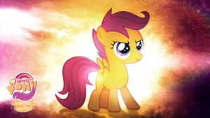 Scootaloo is Best Pony HD Wallpaper by Jackardy
