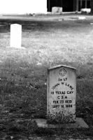 Confederate Grave by FT69