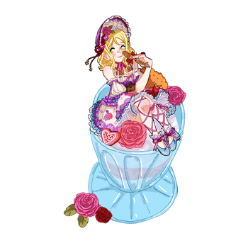 Mari on a Parfait by DelicateFabric