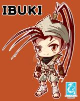 Street Fighter - Chibi Ibuki [Maplestory Style] by RedCaliburn