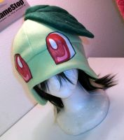 Chikorita hat by Chochomaru