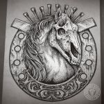 The Luck of Horse by DeadInsideGraphics
