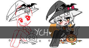 [CLOSED] Smol Halloween Ych by Himetochan