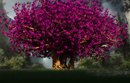 The Big Magic Tree by Lvl99-Gamer