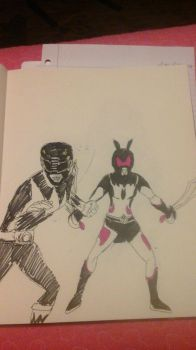 Black Rangers (1969 and Unofficial) by AvengerOfIron3401