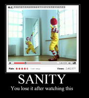 Ronald McDonald Insanity by SuperAshBro