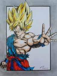 Son Goku by Gatter87