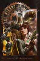 The Wizard of Oz: A Steampunk Adventure by madadman