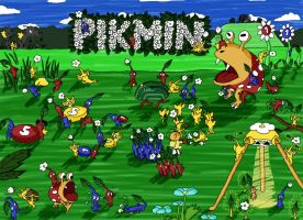 Pikmin by Baltarouzz
