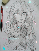+Violet Evergarden+ by larienne