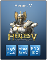 Heroes V Vista Ready Icon by Th3-ProphetMan