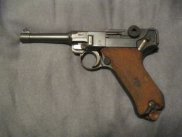 1918 Luger P08 by AnthonyColeRuth