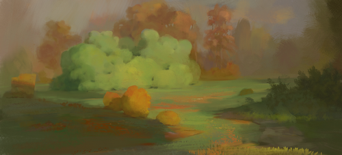 Experiments :  Colour Stylisation Brushes by M0nkeyBread