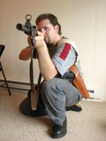 Dale with guns stock 10 by Tensen01