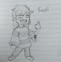 Frisk by Dillon-the-hedgehog