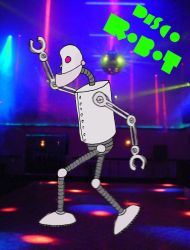 Disco Robot by MistahPete