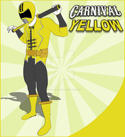 Carnival Yellow Ranger by CarnivalRanger