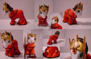 My little Pony Custom Amidala by BerryMouse