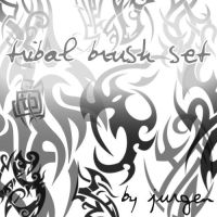 Tribal Brush Set by narvils