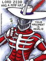 Lord Zedd Has A Pimp Hat by TexasUberAlles