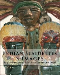 Indian Statuettes Pack by WanderingSoul-Stox