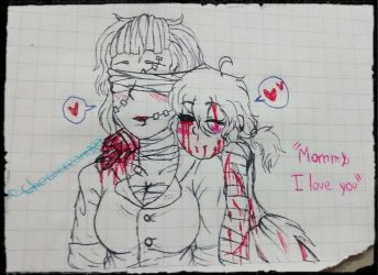 Mommy, I love you [Dr. Irina and Broken Soul] by Chococream380