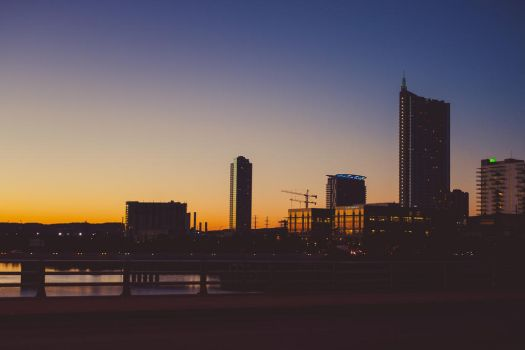 Austin Sunsets and Silhouettes by Kaeldra-1