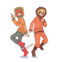 Kyle and Kenny by ChocolatChibi