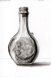 Daily Sketch: Bottle by Hunchy