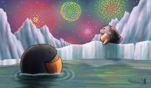Watching the Fireworks by PokeGirl5