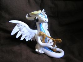 Angel Dragon Sculpture by ByToothAndClaw