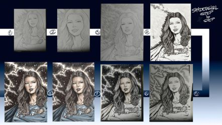 Supergirl 2018 Step by Step by barfast