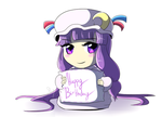 Patchouli Birthday by Rainbow-Skybird