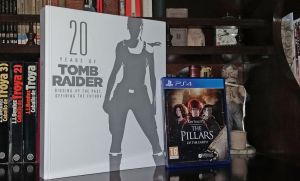 20 Years of Tomb Raider and Pillars of the Earth by marblegallery7