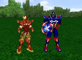 Marvel's Civil War by dragonzero1980