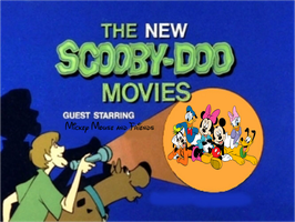 Scooby-Doo meets Mickey Mouse and Friends by MarcosPower1996