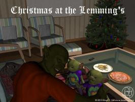 Christmas With The Lemming 2014 by Norski
