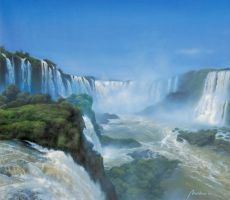 Cataratas Iguazu by marchenart7