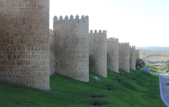 The Walls of Avila by Andre-anz