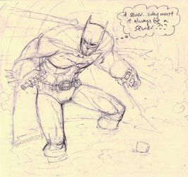 What Batman is really thinking by PsychedelicMind