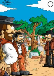 Fanart The good the bad the ugly by JuanAlvarezFuente