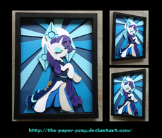 Stained Glass Rarity Shadowbox by The-Paper-Pony