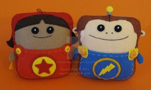 Pouchy Pals Dynamic Duo by PouchyPals