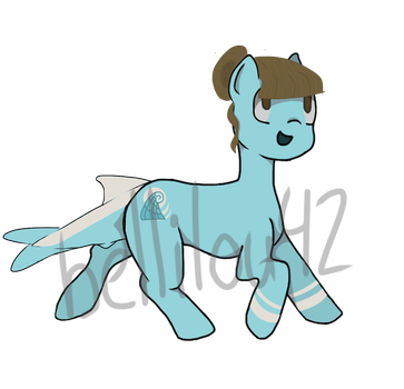 Adopt- Pony Hybrid Auction [OPEN] by bellilou42
